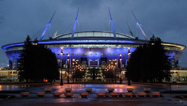 Стадион на Крестовском острове впервые примет 10 тысяч человек