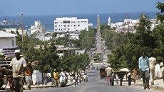 Город Могадишо. Архивное фото