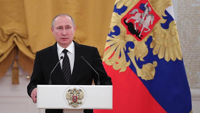 Путин: Небудет таковых сложностей, которые мынесмоглибы справиться