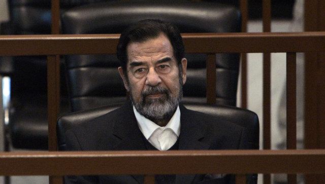 Трибунал над бывшим иракским президентом Саддамом Хусейном