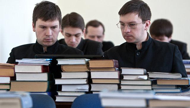 Обучение в Томской духовной семинарии