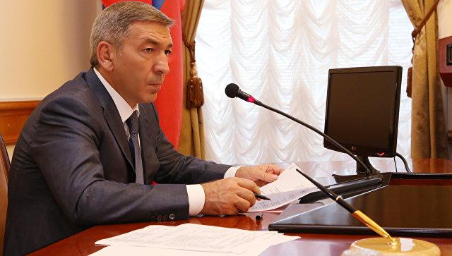 Глава правительства республики Дагестан Абдусамад Гамидов. Архивное фото