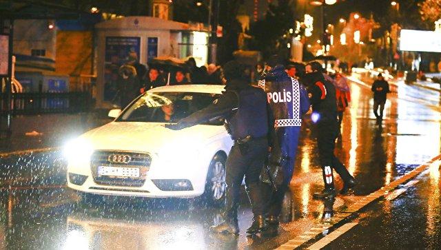 Появилось видео нападения стамбульского террориста наночной клуб