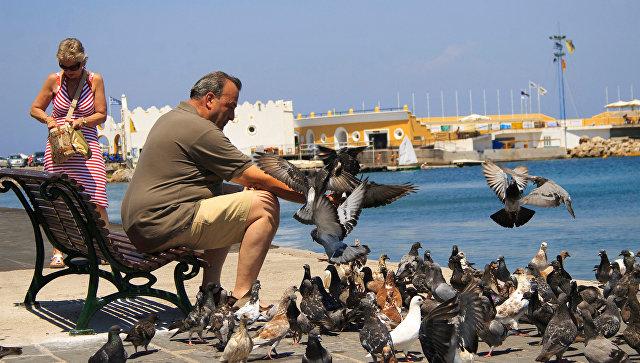 Остров Родос. Архивное фото