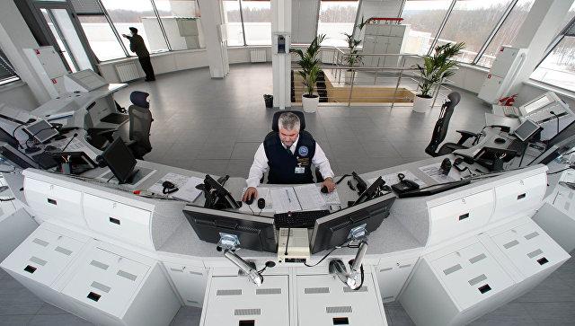 Современный диспетчерский центр аэропорта Храброво. Архивное фото