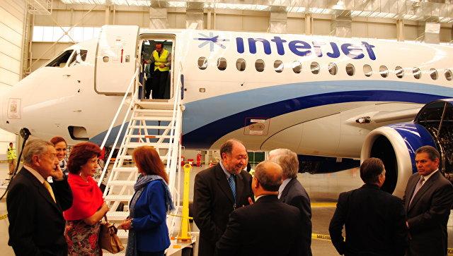 Авиакомпания Interjet возобновит полеты SSJ-100