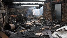 Последствия обстрела села Зайцево в Донецкой области. Архивное фото