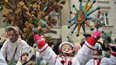 Празднование Рождества на Украине