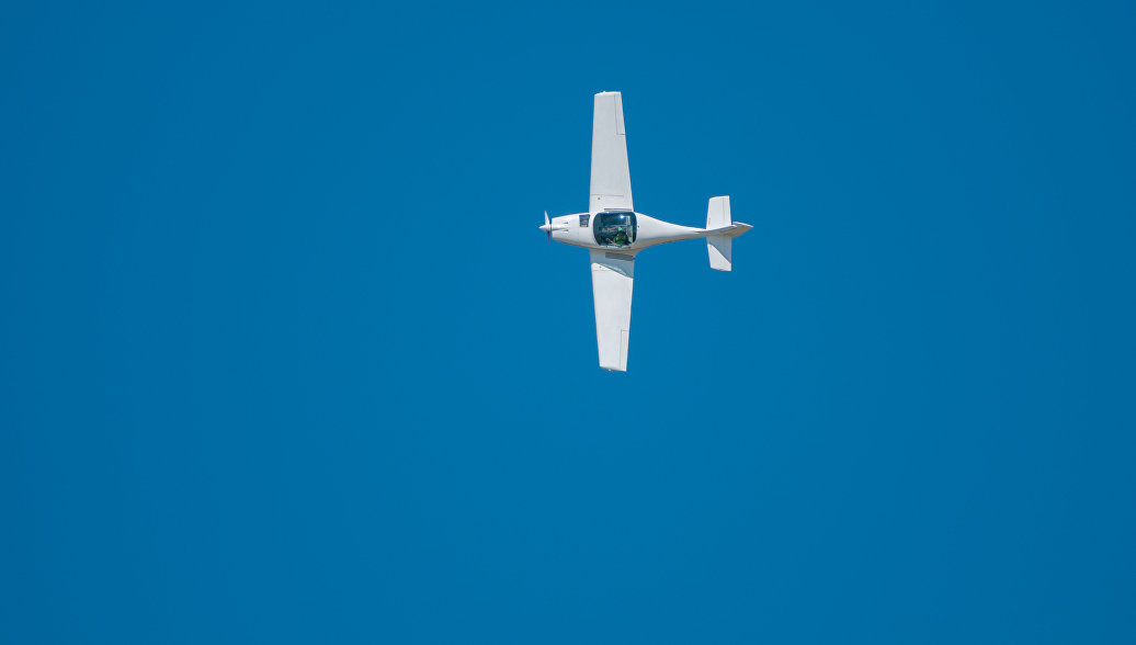 Легкий одномоторный самолет