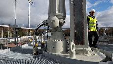 Диагностическая очистная установка на территории компрессорной станции. Архивное фото