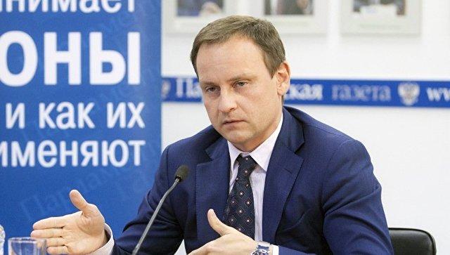 Депутат Госдумы (Единая Россия) Александр Сидякин