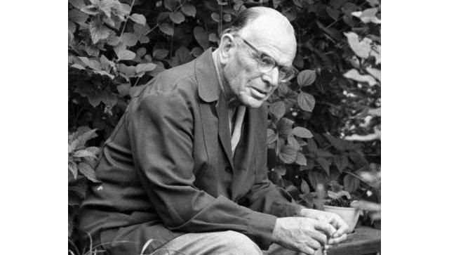Писатель Константин Георгиевич Паустовский. Архивное фото