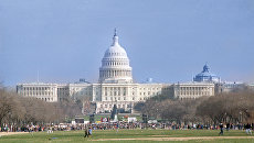 Вид на Капитолий. Вашингтон. Архивное фото