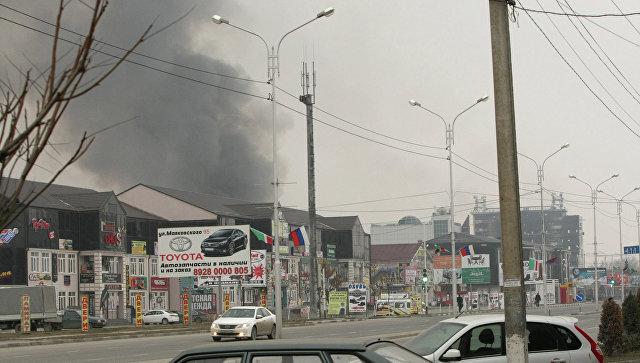 Cпецоперация в Чечне. Архивное фото