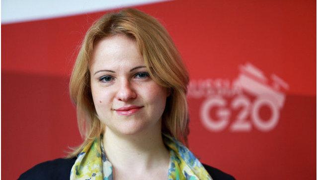 Заместитель начальника экспертного управления президента РФ, российский шерпа в G20 Светлана Лукаш