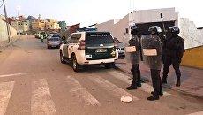 Задержание террористов в городе Сеута, Испания. Архивное фото