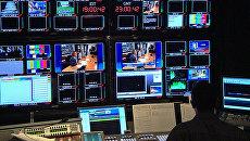 Аппаратная студия телеканала C-SPAN. Архивное фото