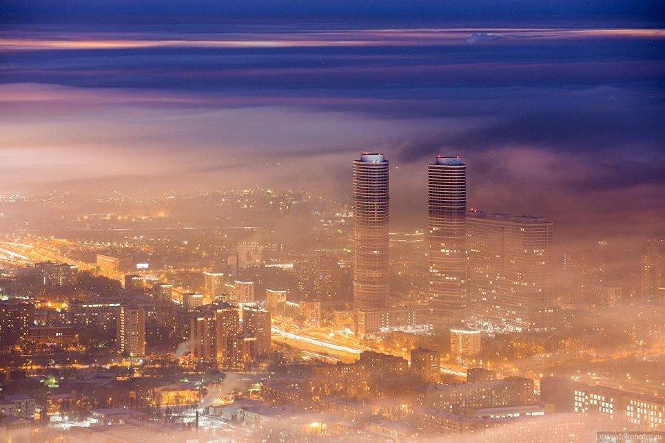 Москва под облаками. ЖК Триколор на Проспекте Мира