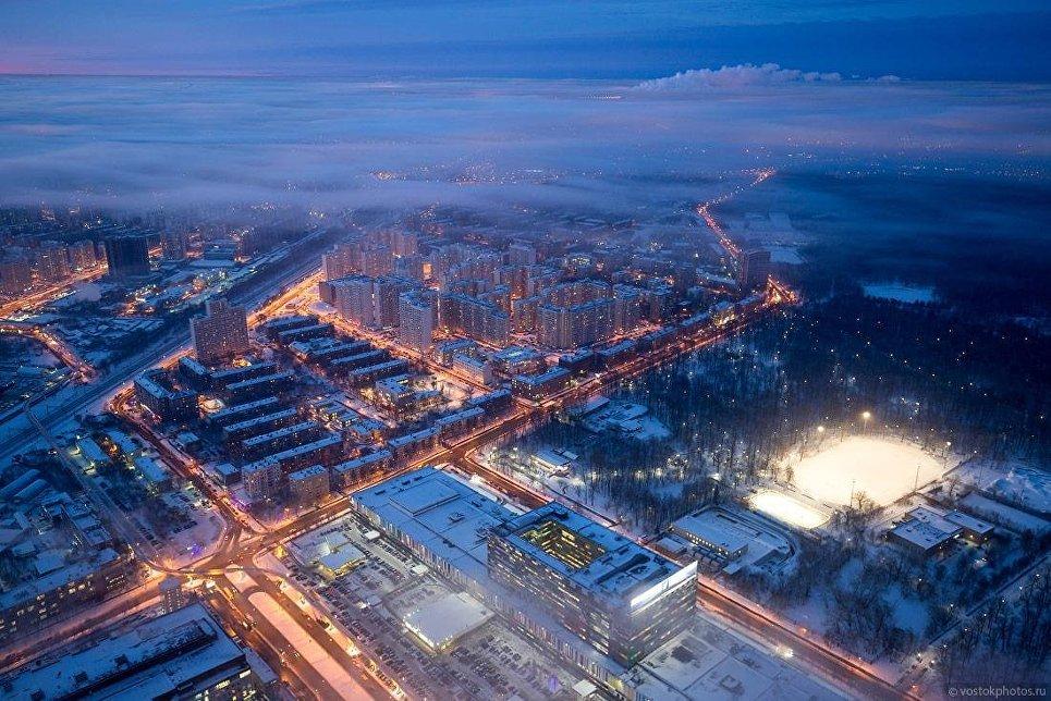 Москва под облаками. Марфино