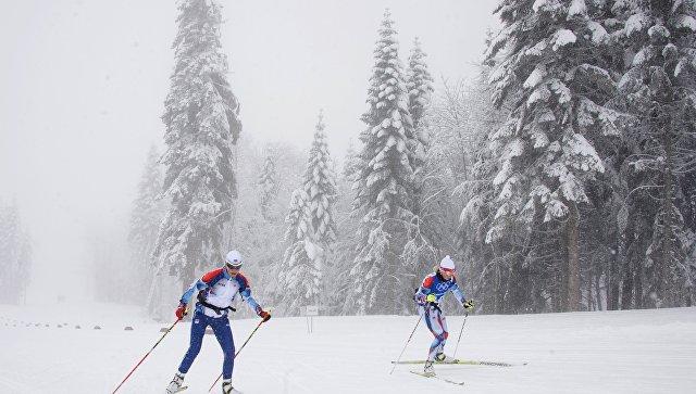Русские лыжницы выиграли командный спринт наэтапе Кубка мира