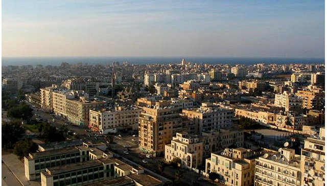 Город Бенгази, Ливия. Архивное фото