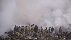 Крушение турецкого грузового Boeing 747 под Бишкеком