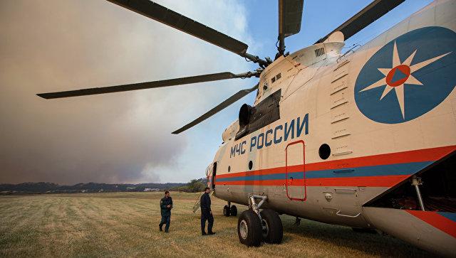 мчс вертолет фото