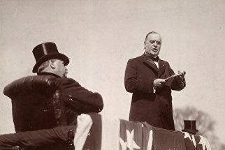 Инаугурация президента Уильяма Мак-Кинли, округ Колумбия, США, март 1897