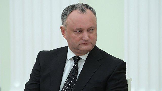 Додон объявил, что Соглашение обассоциации Молдовы сЕС может быть аннулировано