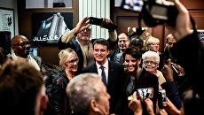 Экс-премьер и кандидат в президенты Франции Мануэль Вальс. 17 января 2017
