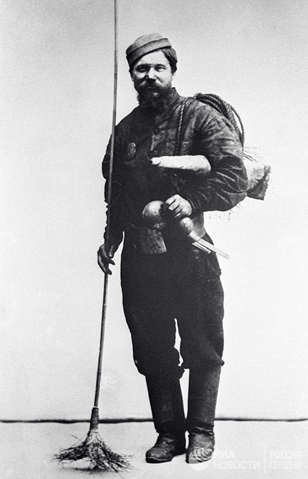 Московский трубочист. 1913 год