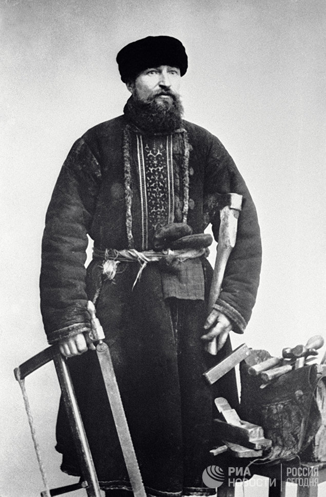 Московский столяр. 1913 год