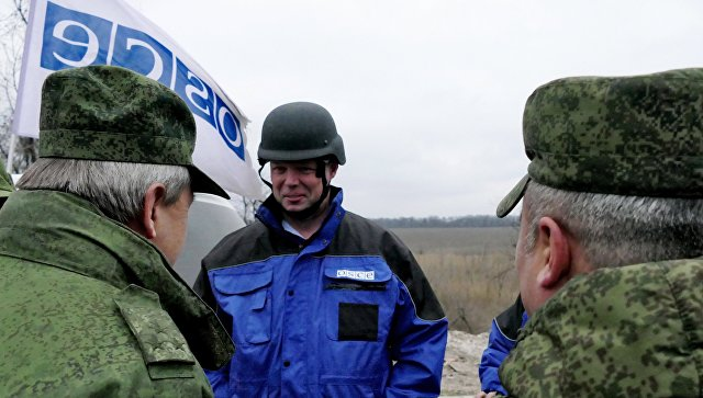 ОБСЕ отмечает ухудшение ситуации сбезопасностью наДонбассе