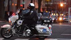 Полицейский в США. Архивное фото