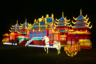 Фестиваль магических фонарей в Лондоне