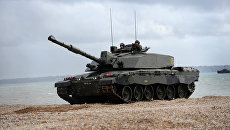 Танк Challenger 2 Британских Вооруженных сил