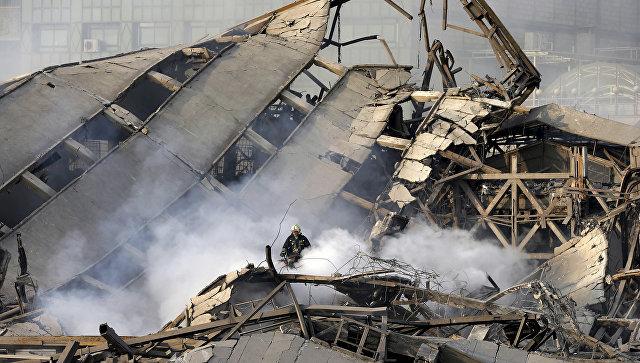 ВТегеране жертвами обрушения многоэтажного дома стали семь человек