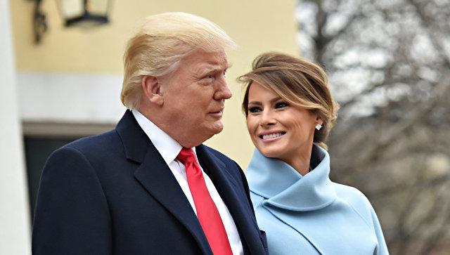 Дональд Трамп и его жена Мелания. Архивное фото