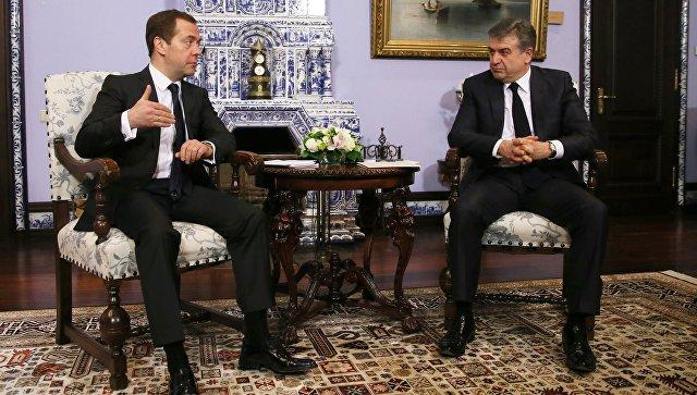 Медведев рассказал о перспективах российско-армянских переговоров