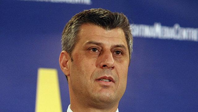 Премьер-министр Косово Хашим Тачи. Архивное фото