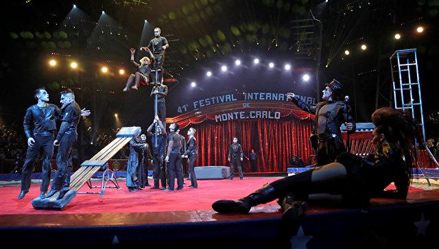 ВМонако артисты из Российской Федерации завоевали 4 цирковых «Оскара»