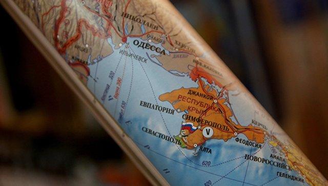 Члены Совфеда предлагают запретить использовать географические карты Российской Федерации без Крыма