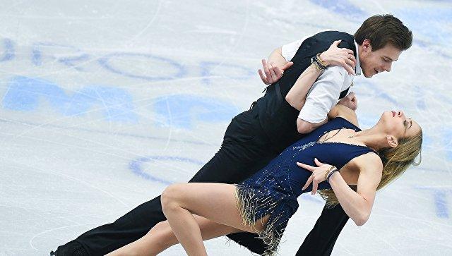 Тарасова иМорозов выиграли чемпионат Европы впарном катании