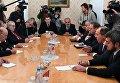 Встреча главы МИД РФ С. Лавров с представителями сирийской оппозиции. 27 января 2017