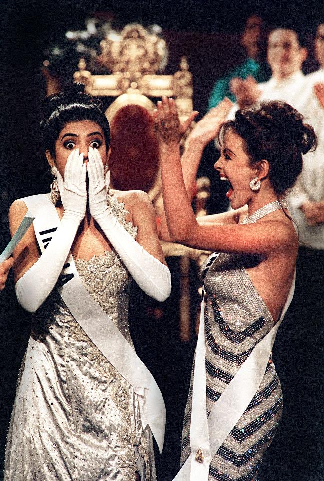 Сушмита Сен(Индия) - Мисс Вселенная 1994