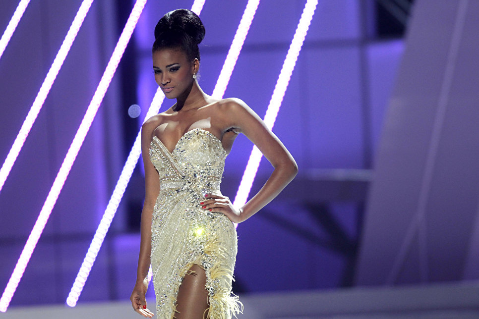 Лейла Лопес - ангольская модель, победительница конкурса Мисс Вселенная 2011