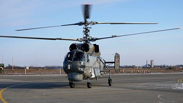 Передача нового вертолета КА-27М. Архивное фото