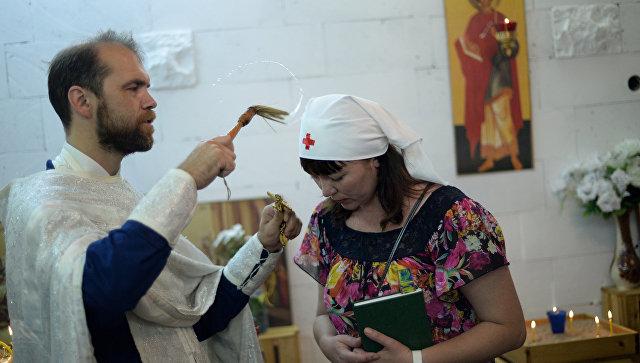 Сестры милосердия в Великом Новгороде