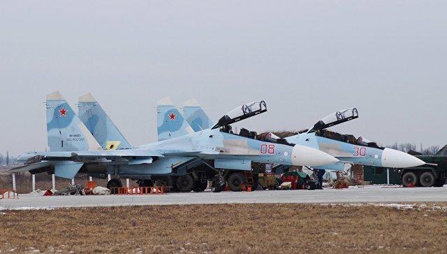 Морской штурмовой авиаполк вКрыму усилен эскадрильей истребителей Су-30СМ— МинобороныРФ