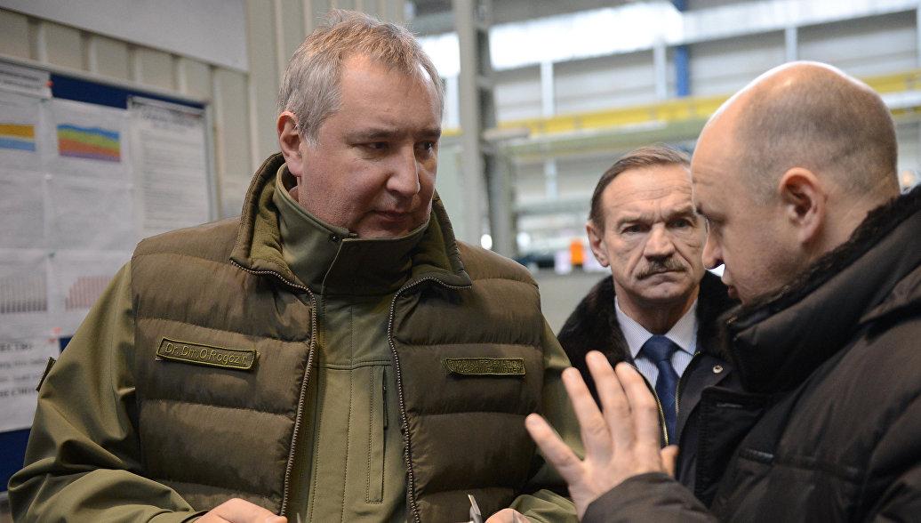 Рогозин: ВРФ запустят производство моторов для ВМФ